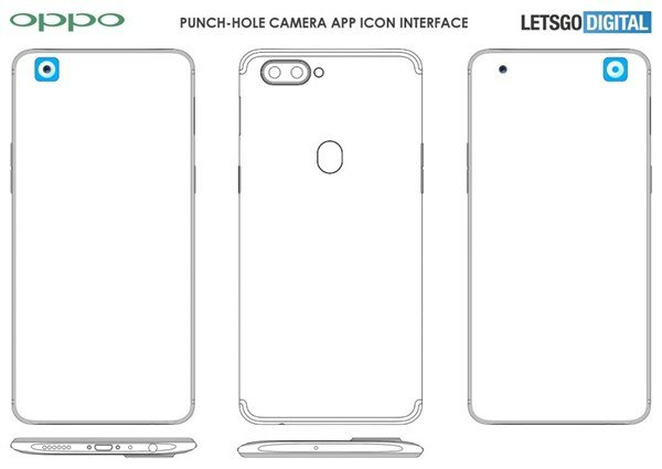 ​OPPO Hole-In-Display Patent