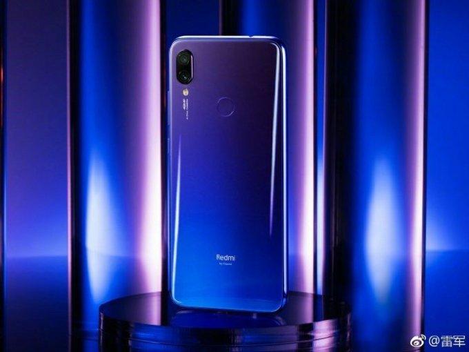 Redmi Note 7 in Blue