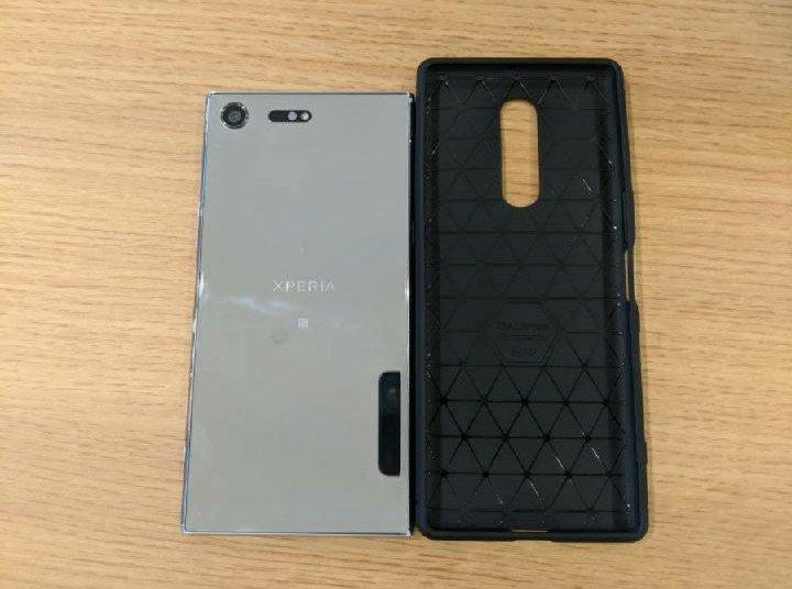 Sony Xperia XZ4 Back Case Compared with XZ PREMIUM 1