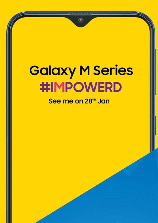 Samsung Galaxy M Series Official Announcement