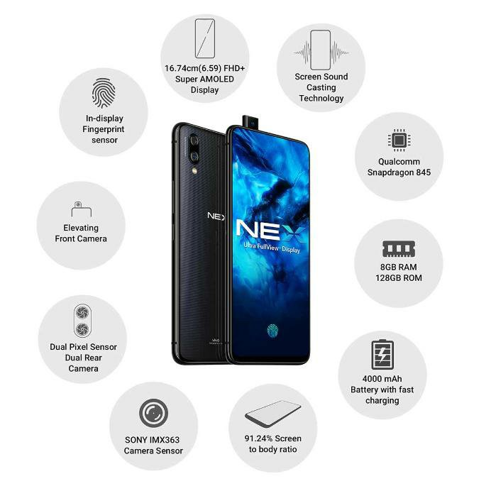 Vivo Nex Specifications