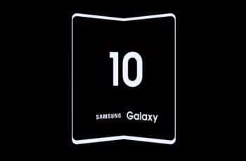 Samsung Foldable Phone Galaxy F Official Teaser out Now 1