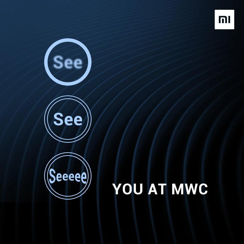 Xiaomi MWC 2019 Invitation