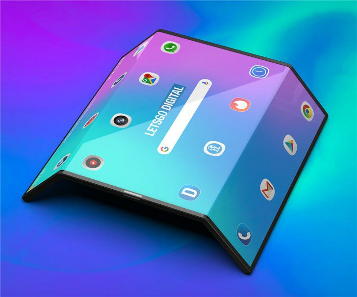 Xiaomi Double Foldable Phone HD Rendering