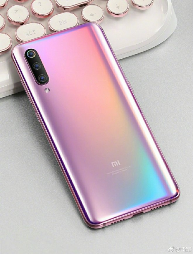 Xiaomi 9 Purple and Pink Color