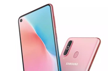 Samsung Galaxy A8s new pink color released: Valentine's Day sale 1