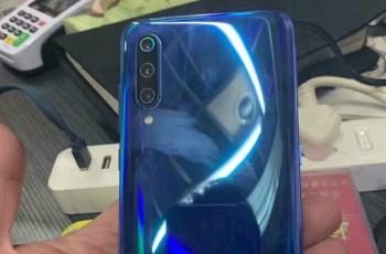 Xiaomi 9 Exposed in Real Life - rear triple camera, Water-drop display 2