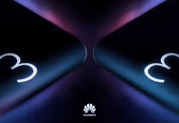 Huawei foldable mobile phone warm-up, countdown three-day video release 1