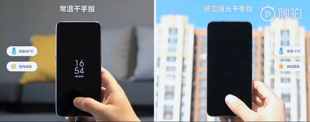 Xiaomi 9 Screen Fingerprint Test