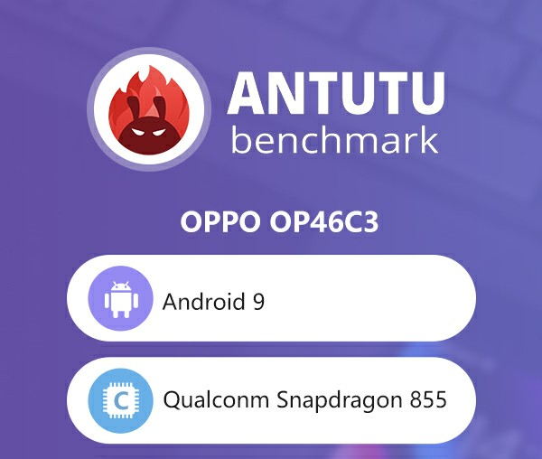 Oppo OP46C3 With Snapdragon 855 Appeared on Antutu 2