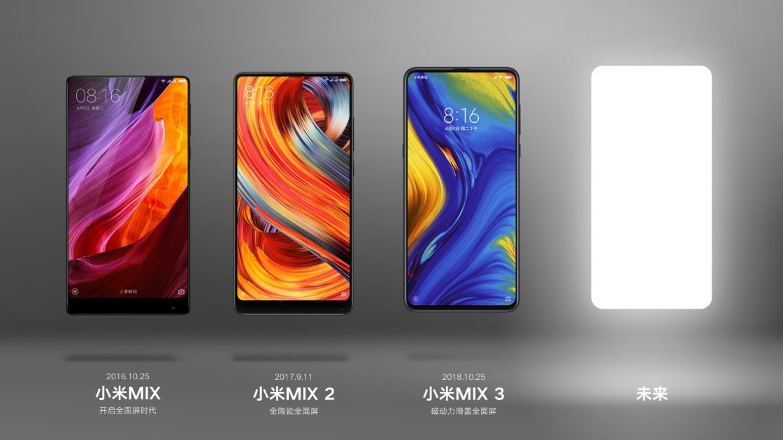 Leading the full screen: Official Xiaomi Mix 4 Poster in Advance 1