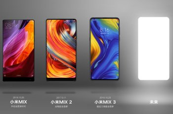 Leading the full screen: Official Xiaomi Mix 4 Poster in Advance 2