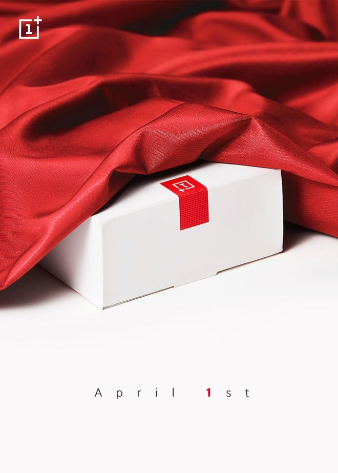 One plus seven is coming? One plus official warm-up: see you on April 1st 1