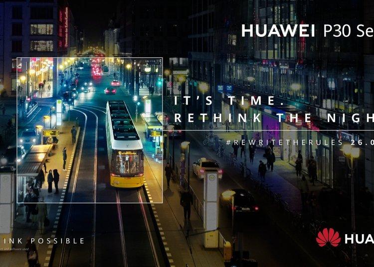 Huawei P30/P30 Pro new poster warm-up: super night scene re-enhanced 1