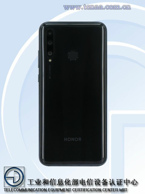 Suspected Honor 29i on Tenaa