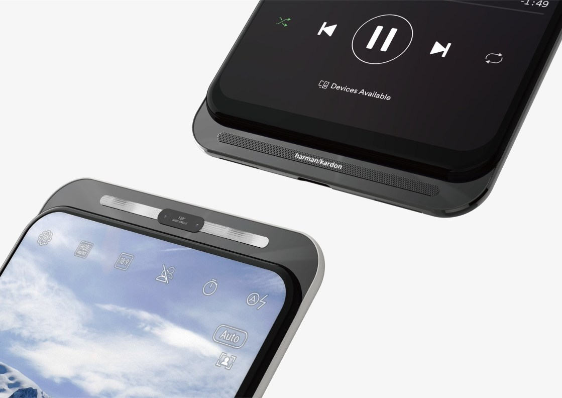ASUS slider phone exposure: front wide flash, support 5G 1