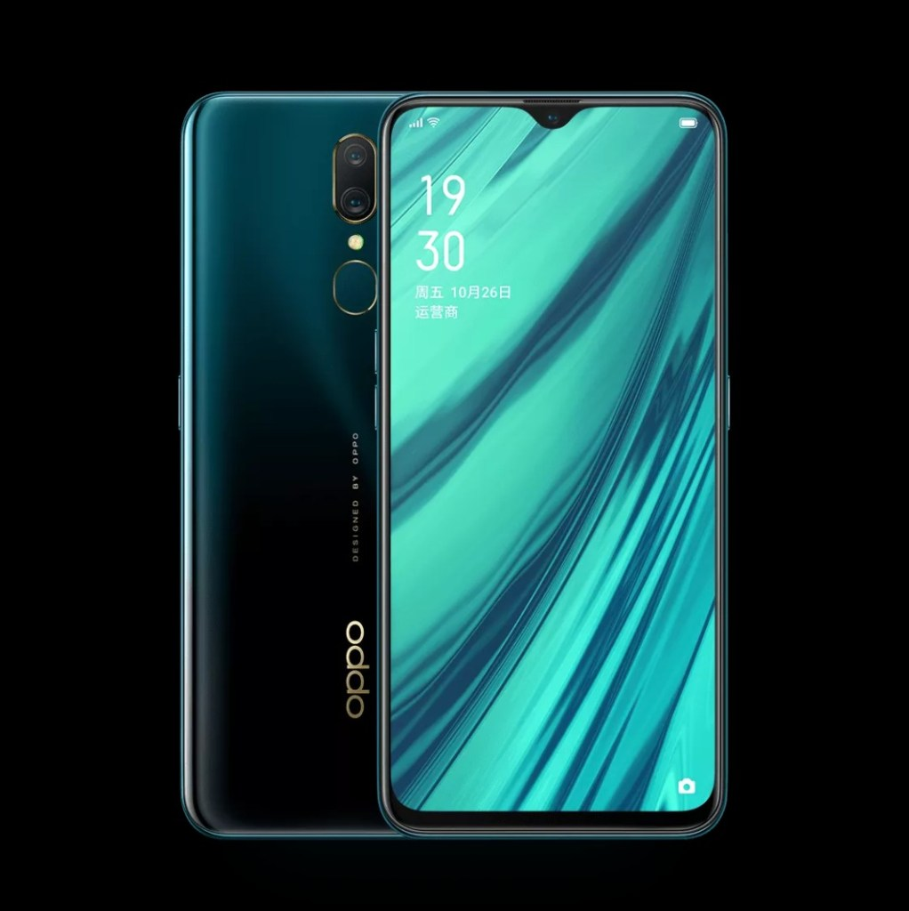 Oppo A9 Green Color
