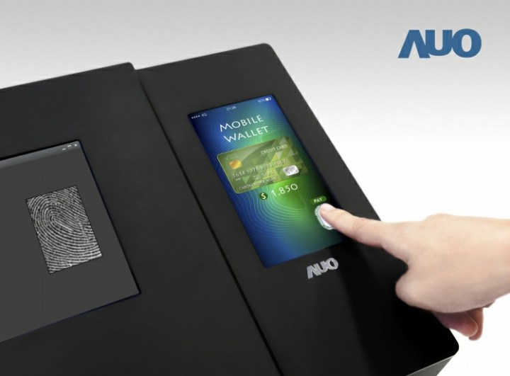 AUO released the world's first 6-inch full-screen optical embedded fingerprint scanning LTPS panel