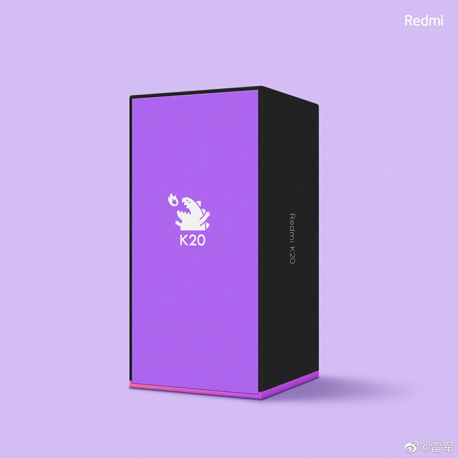 Redmi K20 Retail Box