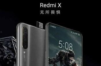 Redmi X Snapdragon 855