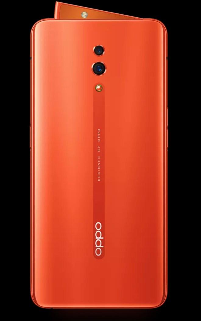 OPPO Reno Coral Orange
