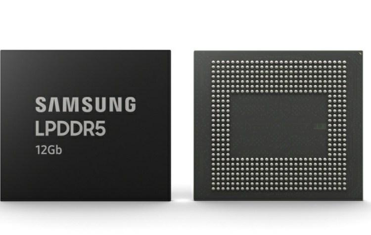 Samsung LPDDR5 12GB