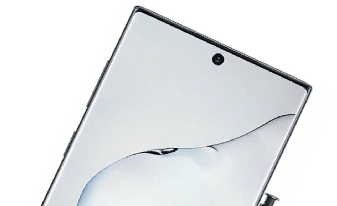 Samsung Galaxy Note 10 official renderings first exposure: the border is extremely narrow