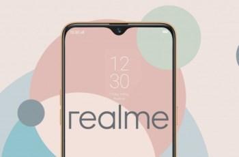 Realme os release date