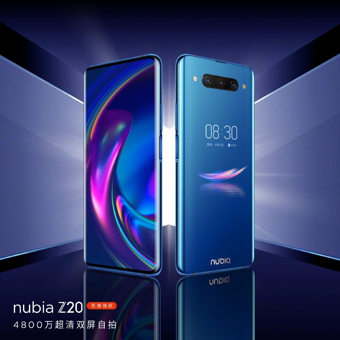 Nubia Z20 Starry Blue