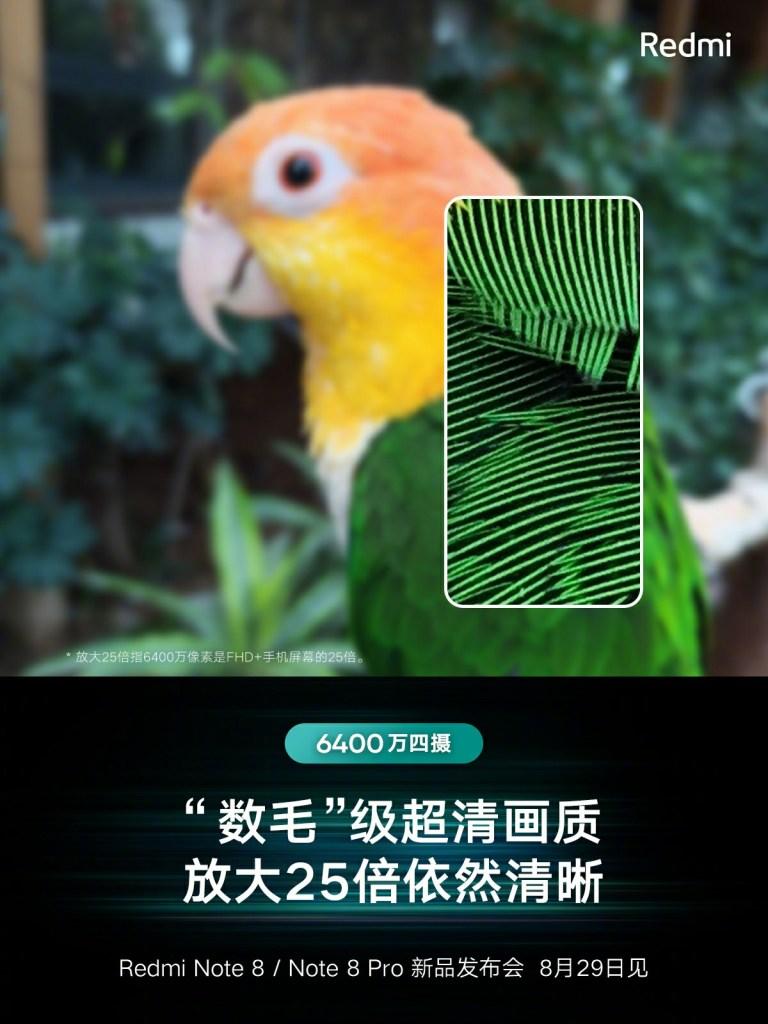 Redmi note 8 Pro Camera 25x zoom