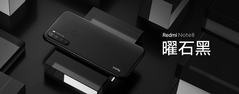 Redmi Note 8 black