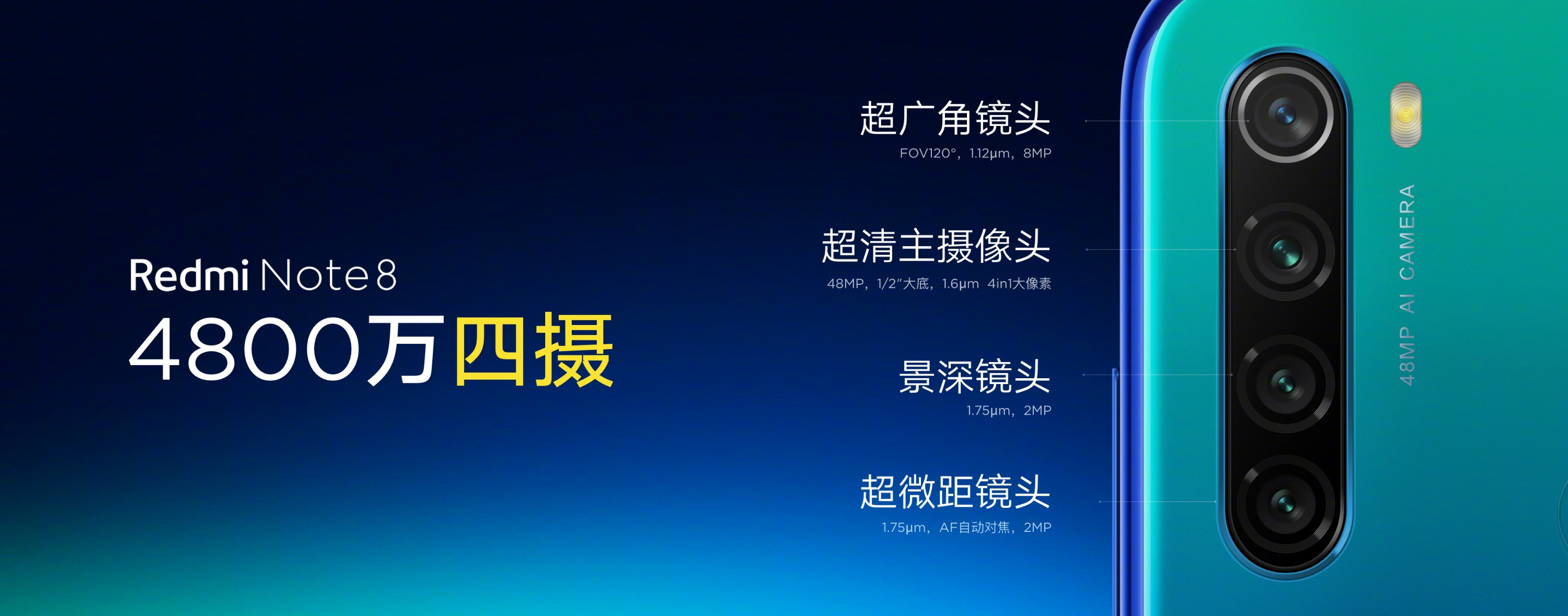 Redmi Note 8 Series Official Now: Price, specs, Camera Sample 1