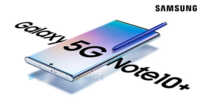 Samsung Galaxy Note 10 Plus 5G Poster