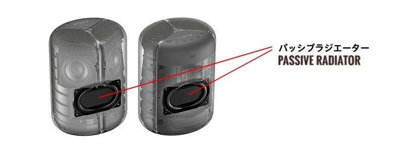 Sony wireless speaker design