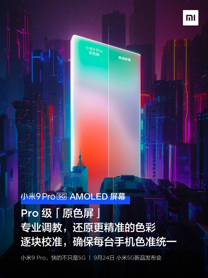 Mi 9 Pro Display Features