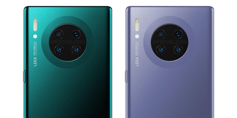 Huawei Mate 30 Pro HD Rendering