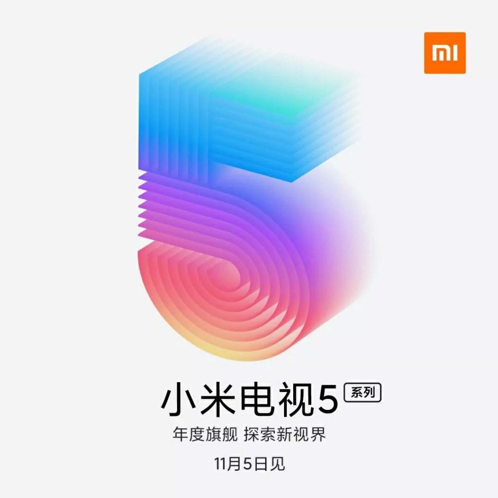 Xiaomi TV 5 release date