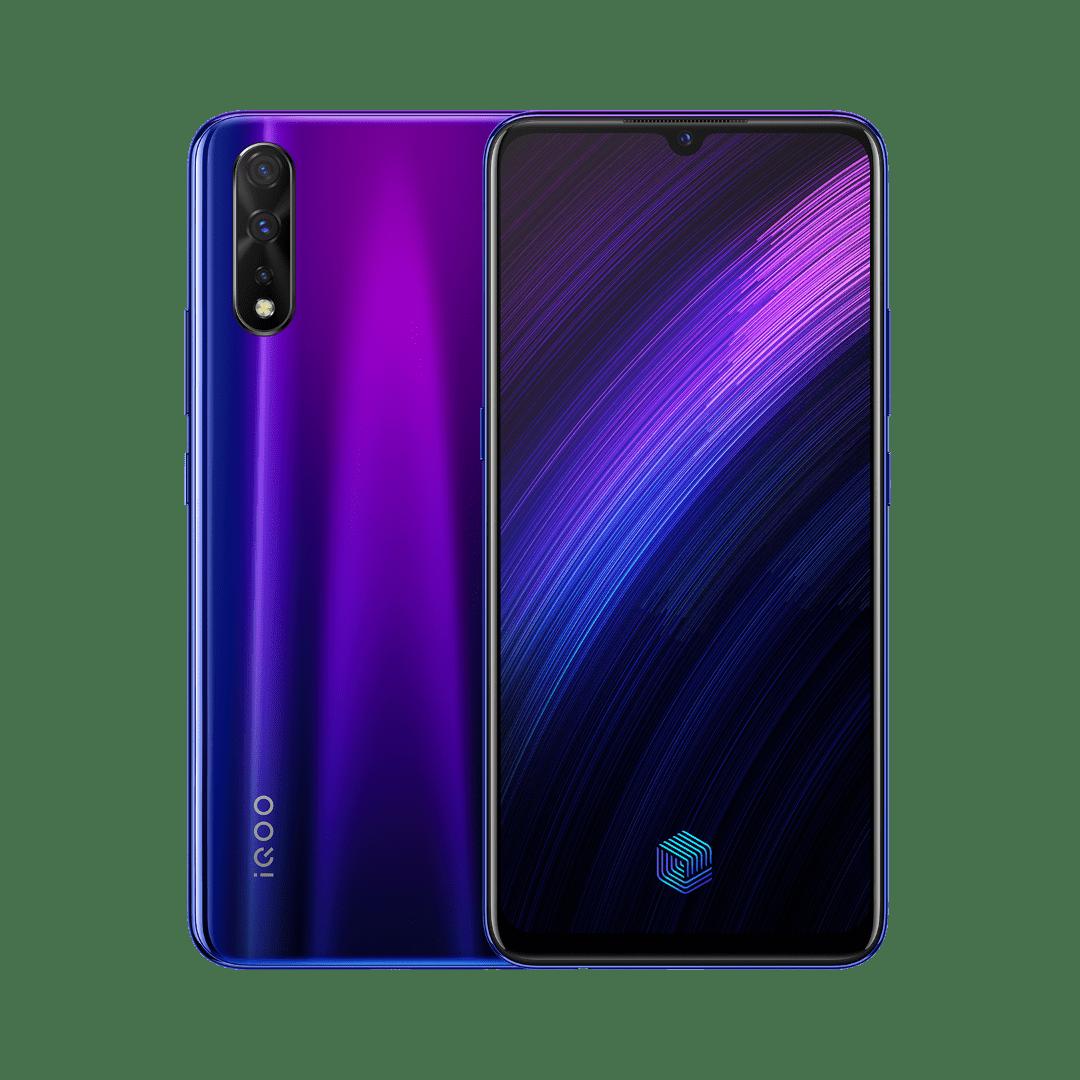 Electro-optical violet