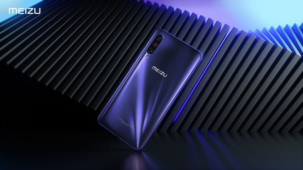 Meizu 16T Official rendering