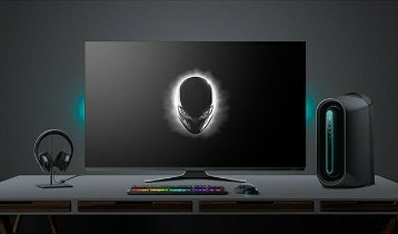 Alienware 55 inch 4k OLED Gaming Monitor: AW5520QF introduction 1