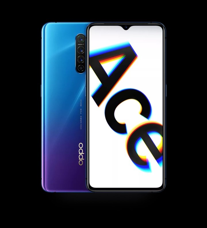 Oppo Reno Ace Electroacoustic violet