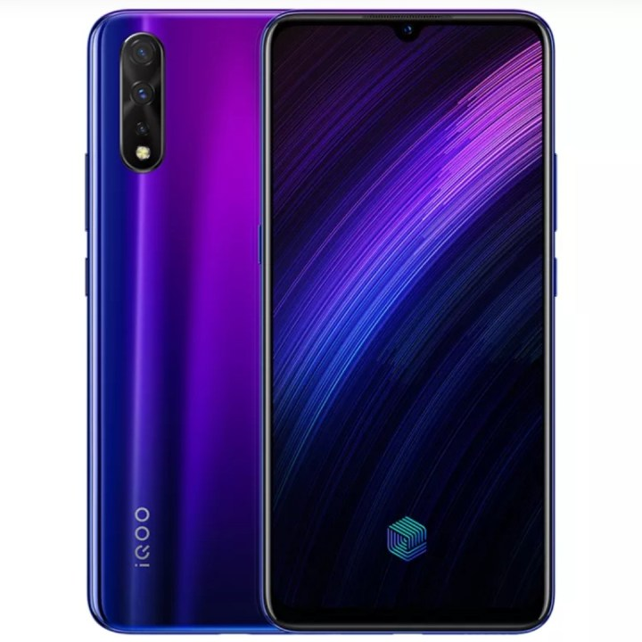 iQOO Neo 855 Version electro-optic purple