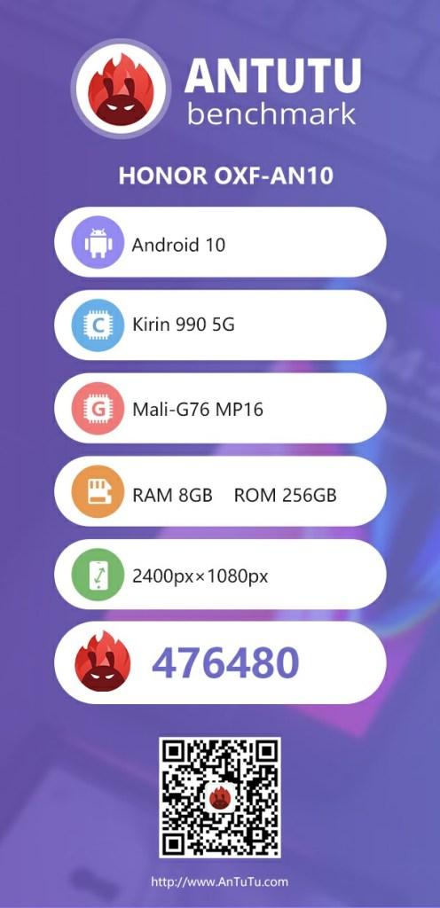 Honor V30 Pro Antutu Benchmark