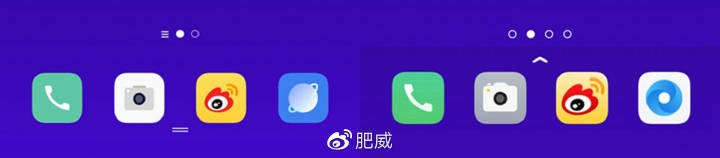 Left ColorOS 7, right ColorOS 6