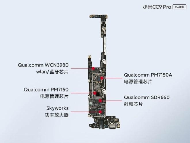 xiaomi cc9 pro disassembling