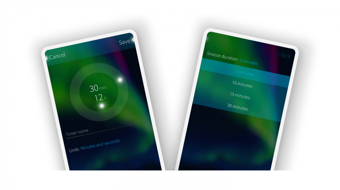 Sailfish OS 3.2 Clock App