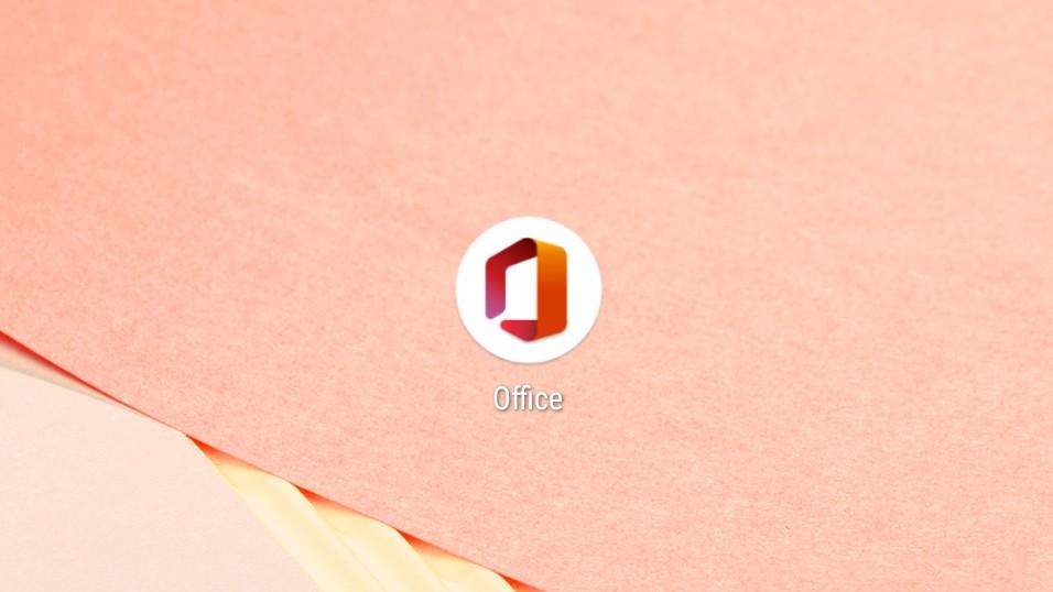Microsoft office brand new app