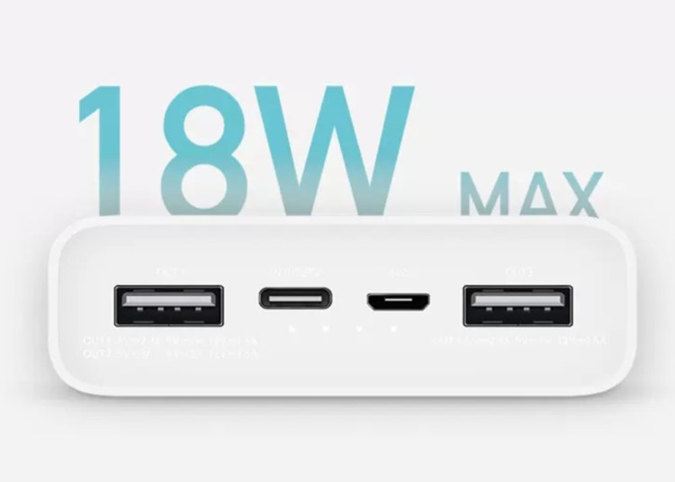 Mi Power Bank 3 USB-C two-way fast charge with 20000mAh capacity 1