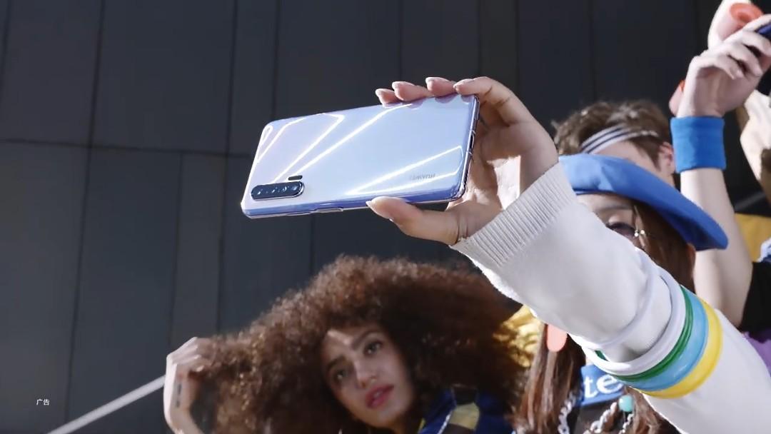 Huawei Nova 6 5g promotional video screenshot