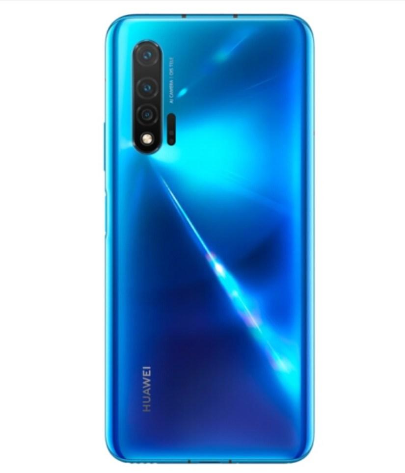 Huawei Nova 6 5G Blue